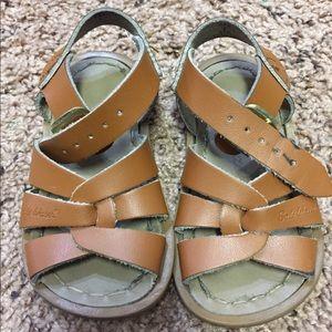 Other - Saltwater Brown Sandals